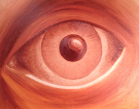 Personal Illustrations 5 – Oil Eye Study