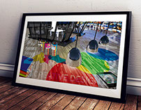 "Digital art picture ""RGB+CMYK / Digital+Print"""