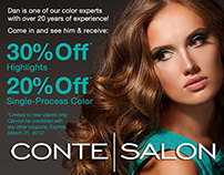 Salon Email Marketing Campaign