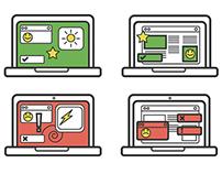 Laptop Icons