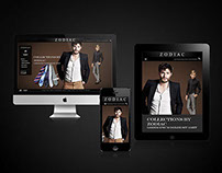 UI, UX & Art direction for Zodiac clothing