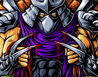 Shredder wins !