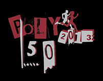 T Shirt Design for Poly 50 (Singapore Polytechnic)