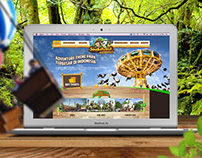 Jungle Land Theme Park Website (Pitching)