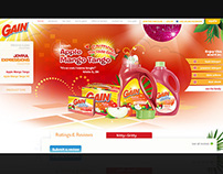 P&G | GAIN WEBSITE REDESIGN