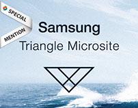 Samsung Triangle Adaptive Microsite