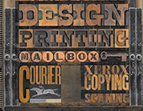 Mailboxes Etc poster design