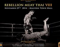 Rebellion Muay Thai 8 poster