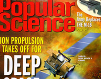 Deep Space One, Popular Science Cover