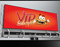 Vip Hamburgueria - Branding in progress