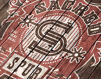 Sacred Spur Logos & Branding