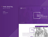 Website Landing Page Design - UI/UX Design