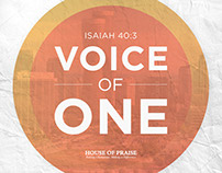 Voice of One and Easter Lunch - Church Event Promo