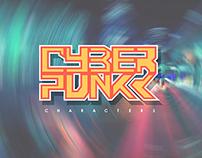 cyberpunk cartoon characters