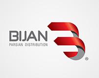 Bijan distribution-logo design