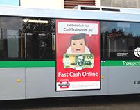 Cash Train National Bus Campaign - Australia
