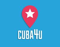 UI/UX DESIGN - CUBA4U Mobile App Prototype