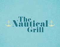 The Nautical Grill | Menu Design Exercise