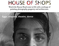 Publicity collaterals for 'House of Shops'
