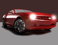Chevrolet Camaro | 3D