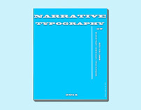 Narrative Typography - Magazine