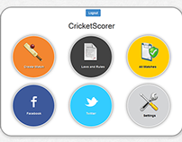 Cricket Scorer App (CodeIgniter)