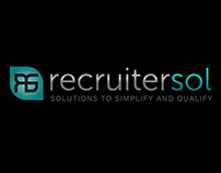 Logo & Business Cards: Recruitersol