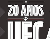 UFC 20 anos - VIP - Infográfico