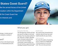 U.S. Coast Guard Recruiting e-flyer set