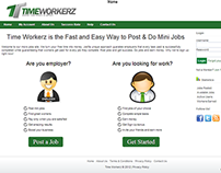 Time Workerz - Work & Earn or Offer a Job