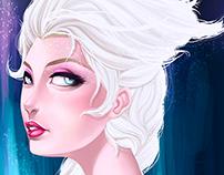 The Frozen Queen - Digital Painting