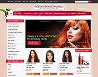 Web design for E-commerce website