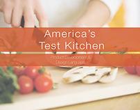 America's Test Kitchen Design Language