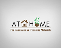At Home For Landscape & Finishing Materials | Brochure