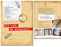 are you an archive?