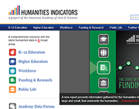 The Humanities Indicators Website