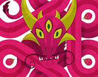 Pink Dragon