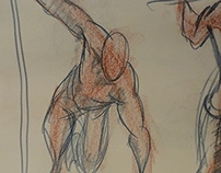 Life Drawing: 30 Second Poses