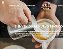 WEB DESIGN FOR CAFÉ MARTINIQUE