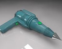 3D Model - Squirt Gun