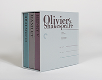 Olivier's Shakespeare DVD Collection Set