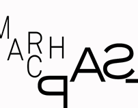 """March Past"" Typography Video"