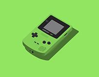 Game Boy Color   illustration & animation