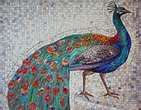 Peacock- mosaic
