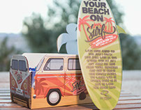 Joe's Surf Shack - Custom Invitation