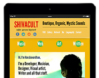 Shivacult: Responsive Website