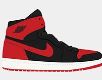 Air Jordan 1 Process