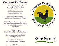 Kokomo Downtown Farmers Market Brochure