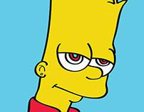 Illusration / Vector Art ( Bart Simpson)