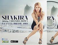 FIFA World Cup Brasil: Album Art of Shakira